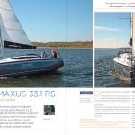 "Jachting listopad 2014 ""Maxus 33.1 RS – duży i szybki"""
